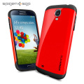 Spigen SGP Slim Armour Case for Samsung Galaxy S4 - Red