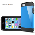 Spigen SGP Tough Armor Case for iPhone 5C - Dodger Blue