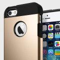 Spigen SGP Tough Armor iPhone 5S / 5 Case - Champagne Gold