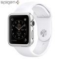 Spigen Thin Fit Apple Series 2 / 1 Watch Case (42mm) - Satin Silver