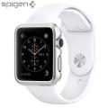Spigen Thin Fit Apple Watch Series 2 / 1 Case (38mm) - Satin Silver