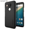 Spigen Thin Fit Nexus 5X Shell Case - Smooth Black