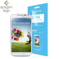 Spigen Ultra Crystal Samsung Galaxy S4 Screen Protector - Twin Pack