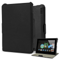Stand and Type Wallet for Kindle Fire HDX 7 - Black