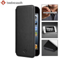 Twelve South SurfacePad Luxury Leather iPhone 5S / 5 Case - Black