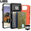 UAG Samsung Galaxy S7 Protective Card Case - Rust / Black