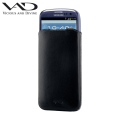 VAD Superior Leather Soft Pouch XL for Smartphones - Black