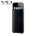 VAD Superior Leather Vest ML for iPhone 5S / 5C / 5 - Black