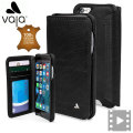 Vaja Wallet Agenda iPhone 6S / 6 Premium Leather Case - Black