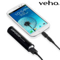 Veho Pebble Smartstick Emergency Charger - Black