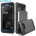 Verus Damda Slide Samsung Galaxy S6 Edge Plus Case - Steel Silver