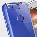 VRS Design Crystal Bumper Google Pixel Case - Really Blue