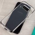 VRS Design Crystal Bumper Samsung Galaxy S8 Case - Steel Silver