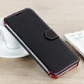 VRS Design Dandy Leather-Style Galaxy S8 Plus Wallet Case - Black