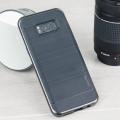 VRS Design High Pro Shield Samsung Galaxy S8 Plus Case - Dark Silver