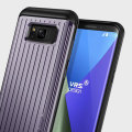 VRS Design Thor Waved Series Samsung Galaxy S8 Case - Orchid Grey
