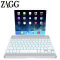 ZAGGkeys Bluetooth Keyboard Cover for iPad Air - White