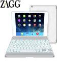 ZAGGkeys Bluetooth Keyboard Folio Case for iPad Air - White