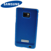 Original Samsung Galaxy S2 i9100 Mesh Case in Blau