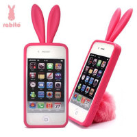 Custodia originale Rabito per iPhone 5 - Hot Pink
