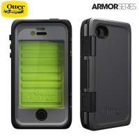 OtterBox Armor Series For iPhone 4 /4 S - Grey/Green