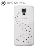 Bling My Thing Milky Way Collection Galaxy S5 Case - Pink Mix