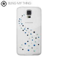 Bling My Thing Milky Way Collection Galaxy S5 etui - Niebieski Mix