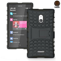 Funda Nokia XL ArmourDillo Hybrid Protective -Negro