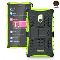Funda Nokia XL ArmourDillo Hybrid Protective - Verde