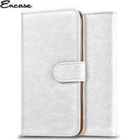 Encase Wiko Kite 4G Wallet Case - White