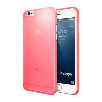 Spigen Air Skin iPhone 6 / 6S suojakuori - Atsalean pinkki