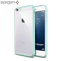 Spigen Ultra Hybrid iPhone 6S Plus / 6 Plus Bumper Case - Mint