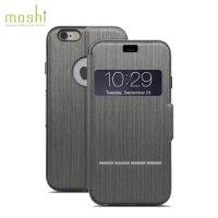 Moshi SenseCover voor iPhone 6 Plus - Staal Zwart