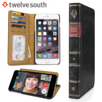 Twelve South BookBook iPhone 6S Plus /6 Plus Läderfodral Plånbok Svart