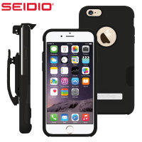 Seidio DILEX Pro Combo Apple iPhone 6S Plus /6 Plus Holster Case Black