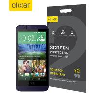 Olixar HTC Desire 510 Screen Protector 2-in-1 Pack