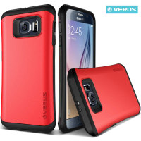 Verus Thor Samsung Galaxy S6 Edge Case - Red