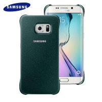Original Samsung Galaxy S6 Edge Protective Cover Case - Grün