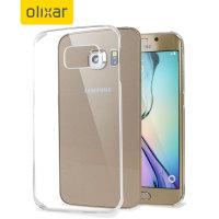 Olixar Polycarbonate Samsung Galaxy S6 Edge Shell Case - 100% Clear