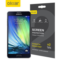 Olixar Samsung Galaxy A7 2015 Screen Protector 2-in-1 Pack