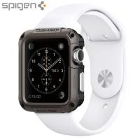 Spigen Tough Armor Apple Watch Series 3 / 2 / 1 Case (42mm) - Gun Meta