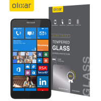 Olixar Microsoft Lumia 640 Tempered Glass Screen Protector