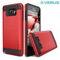 Verus Verge Series Samsung Galaxy Note 5 Case - Crimson Red