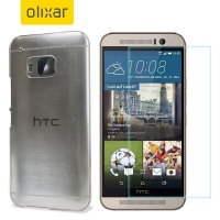 Olixar Total Protection HTC One M9 Case & Screen Protector Pack
