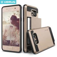 Verus Damda Slide Samsung Galaxy Note 5 Skal - Skinande guld