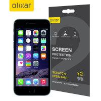 Olixar iPhone 6S Screen Protector 2-in-1 Pack
