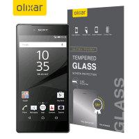 Olixar Sony Xperia Z5 Premium Tempered Glass Skärmskydd