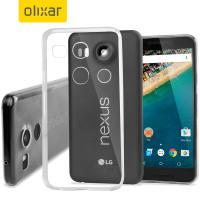 FlexiShield Ultra-Thin Nexus 5X Gel Hülle in 100% Klar