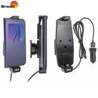 Brodit Samsung Galaxy S6 Case Compatible Active Holder USB Cig-Plug