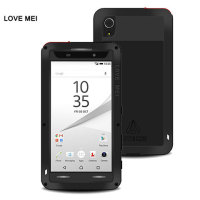 Love Mei Powerful Sony Xperia Z5 Protective Case - Black